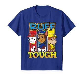 Amazon.com: Kids PAW Patrol Ruff And Tough Pup In Frames T.