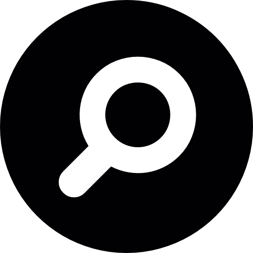 Search circle Icons.
