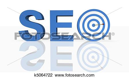 Clip Art of Search Engine Optimization k5064722.