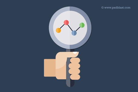 Search engine optimization Icon (PSD), Vector.