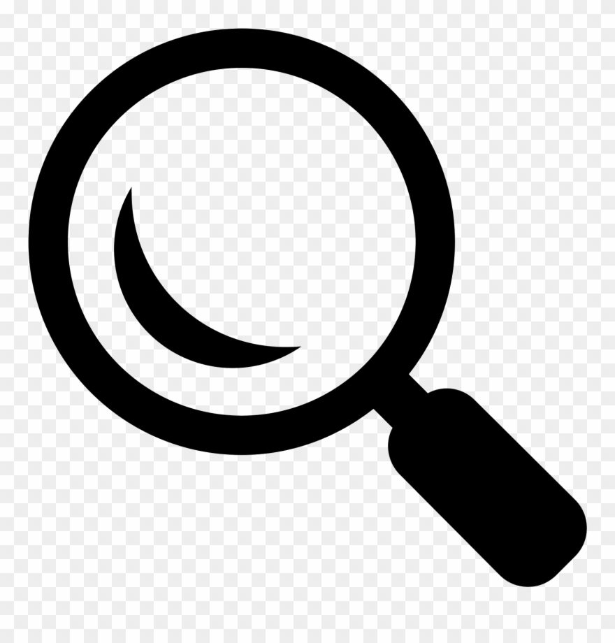 Search Magnifying Glass Icon.