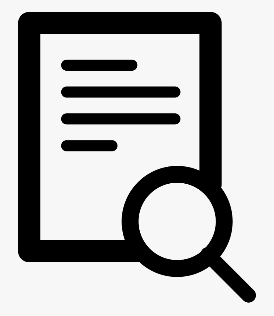 Doc Search Svg Png Icon Free Download Ⓒ.
