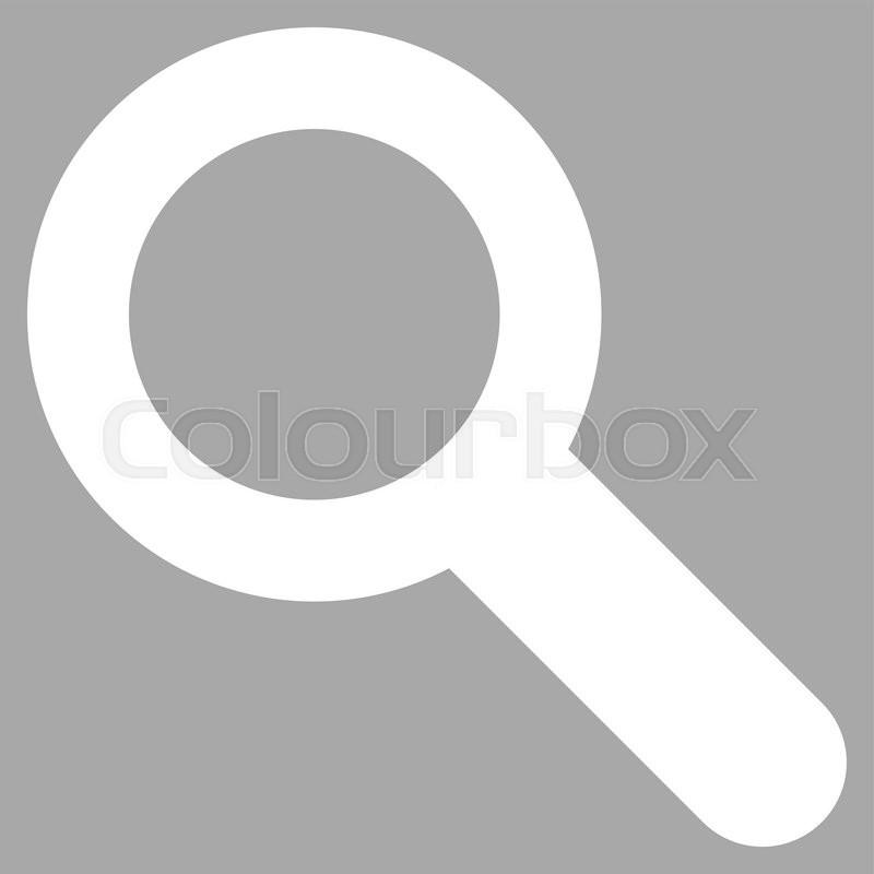 White Search Icon Png #388851.