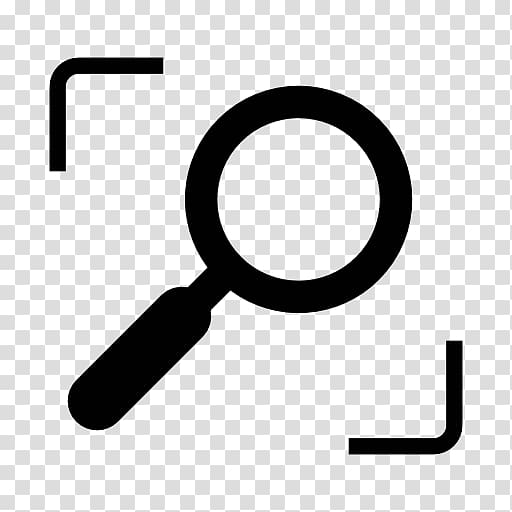 Magnifying glass Computer Icons Symbol Interface, Search.