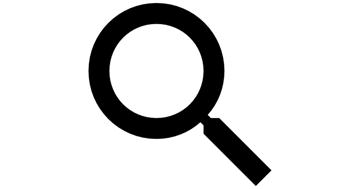 Searching magnifying glass.
