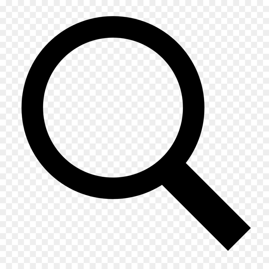 Magnifying Glass Symbol png download.