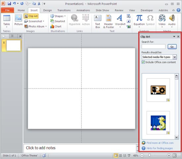 How To Get Clipart In Powerpoint.
