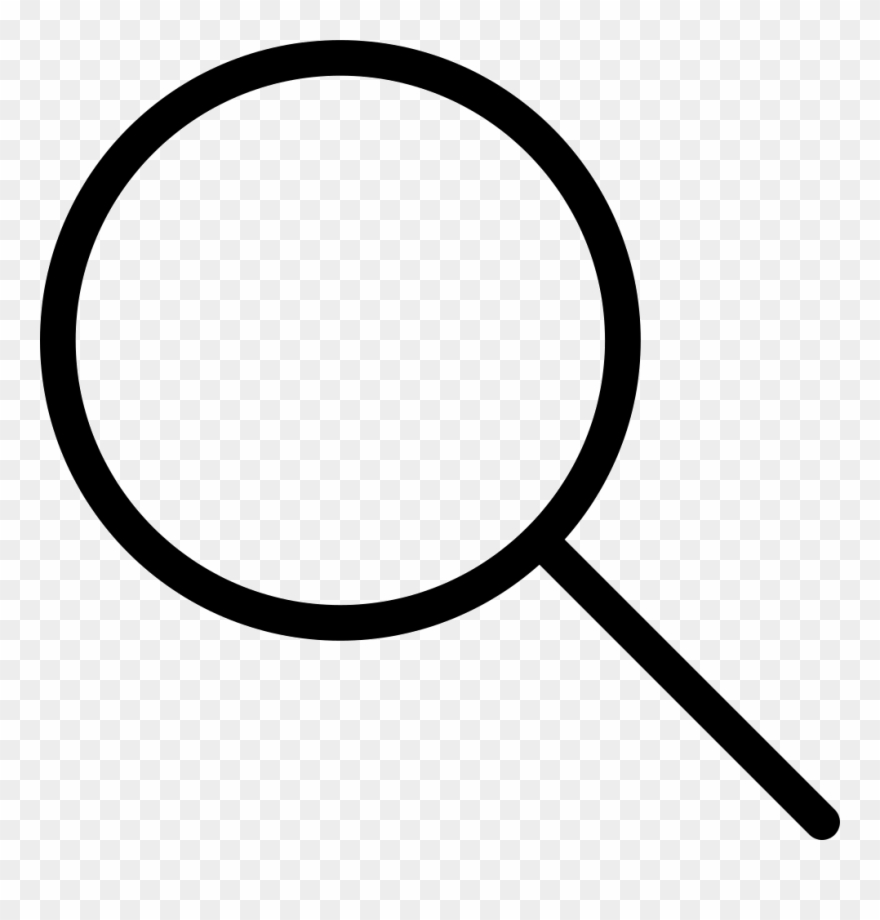 Rounded Magnifying Glass Comments.