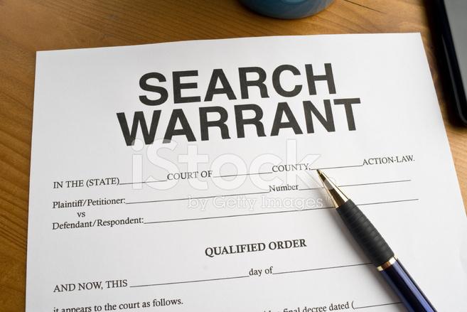Search Warrant Stock Photos.