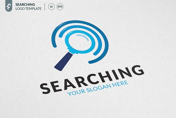 Searching Logo.
