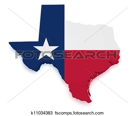 Houston Texas Map Clipart.