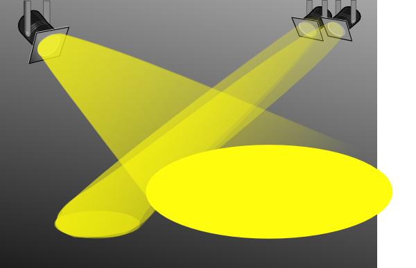 Spotlight searchlight clip art at clker vector clip art.