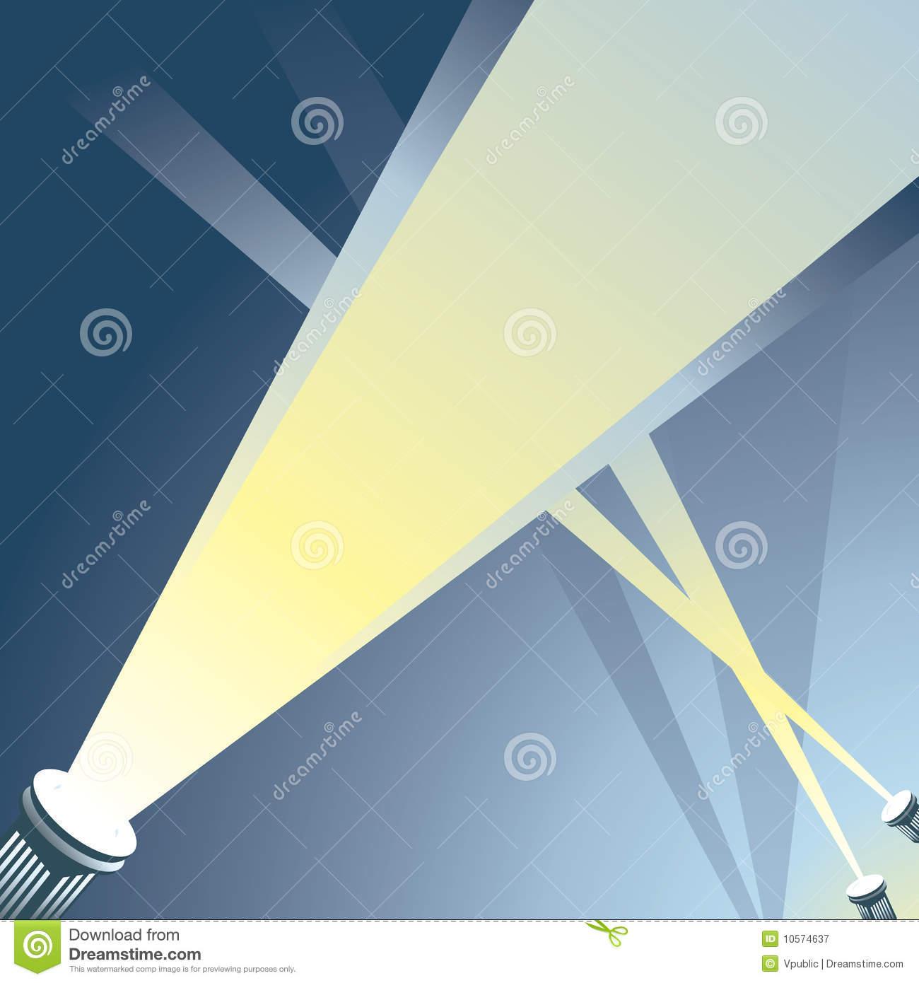 Searchlight Stock Illustrations.
