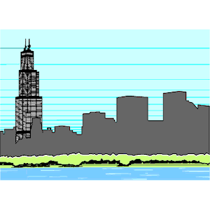 Sears Tower clipart, cliparts of Sears Tower free download (wmf.