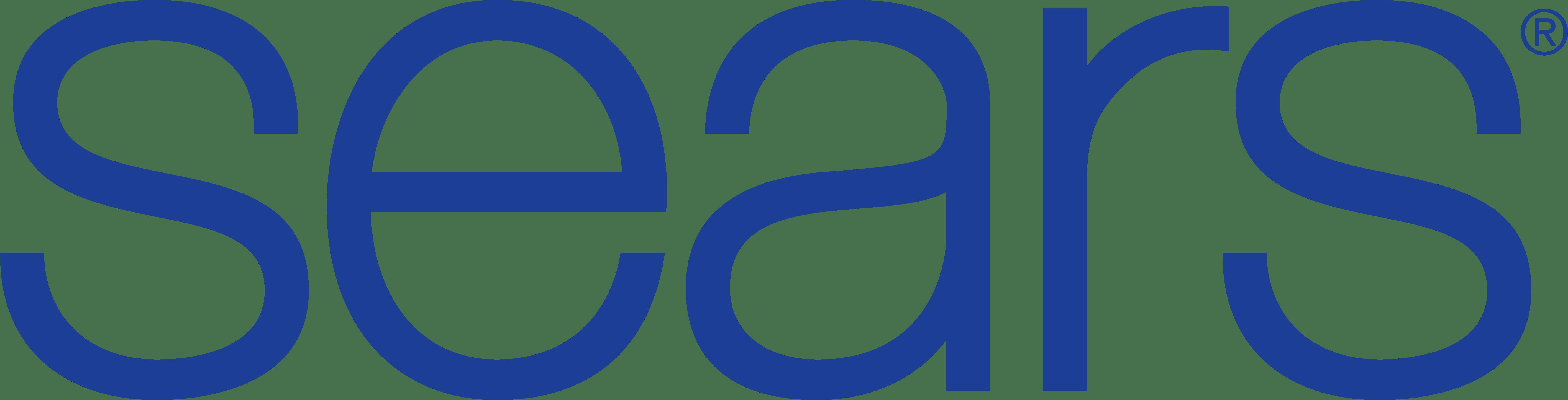 Sears Logo transparent PNG.
