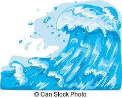 Rough Seas Clipart.