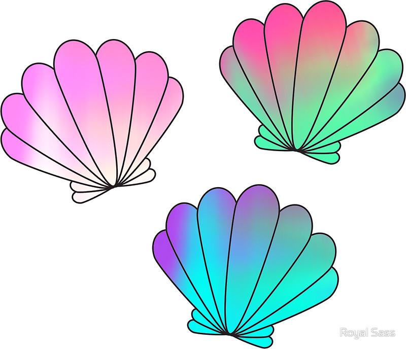 Seashells Clipart.