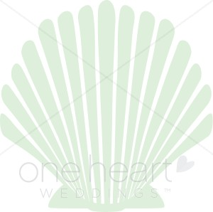 Seashell Accent Clipart.