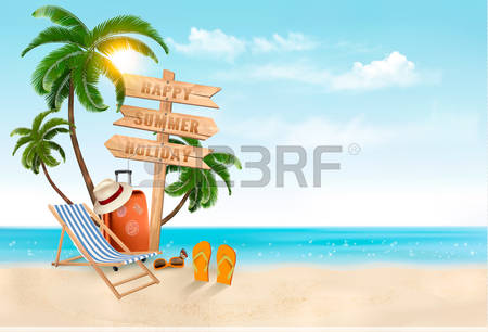 195,663 Seaside Beach Stock Vector Illustration And Royalty Free.