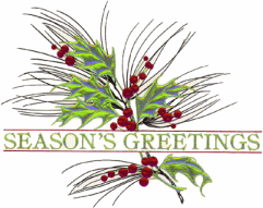 68+ Seasons Greetings Clipart.