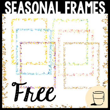 Borders & Frames (Seasonal Colors) Clipart.
