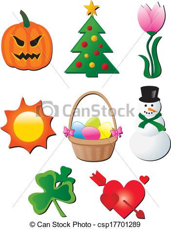 Seasonal Clip Art Vector Graphics. 142,374 Seasonal EPS clipart.