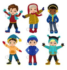 Clip Art Winter Clothes Winter clothin.
