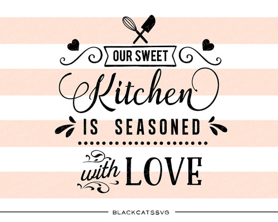 Seasoned with love clipart.