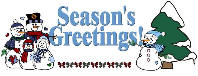 Seasons Greetings Clipart (103+ images in Collection) Page 3.