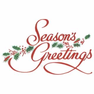 Season\'s Greetings.