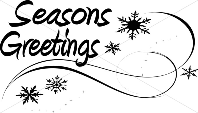 Seasons Greetings Page Accent.