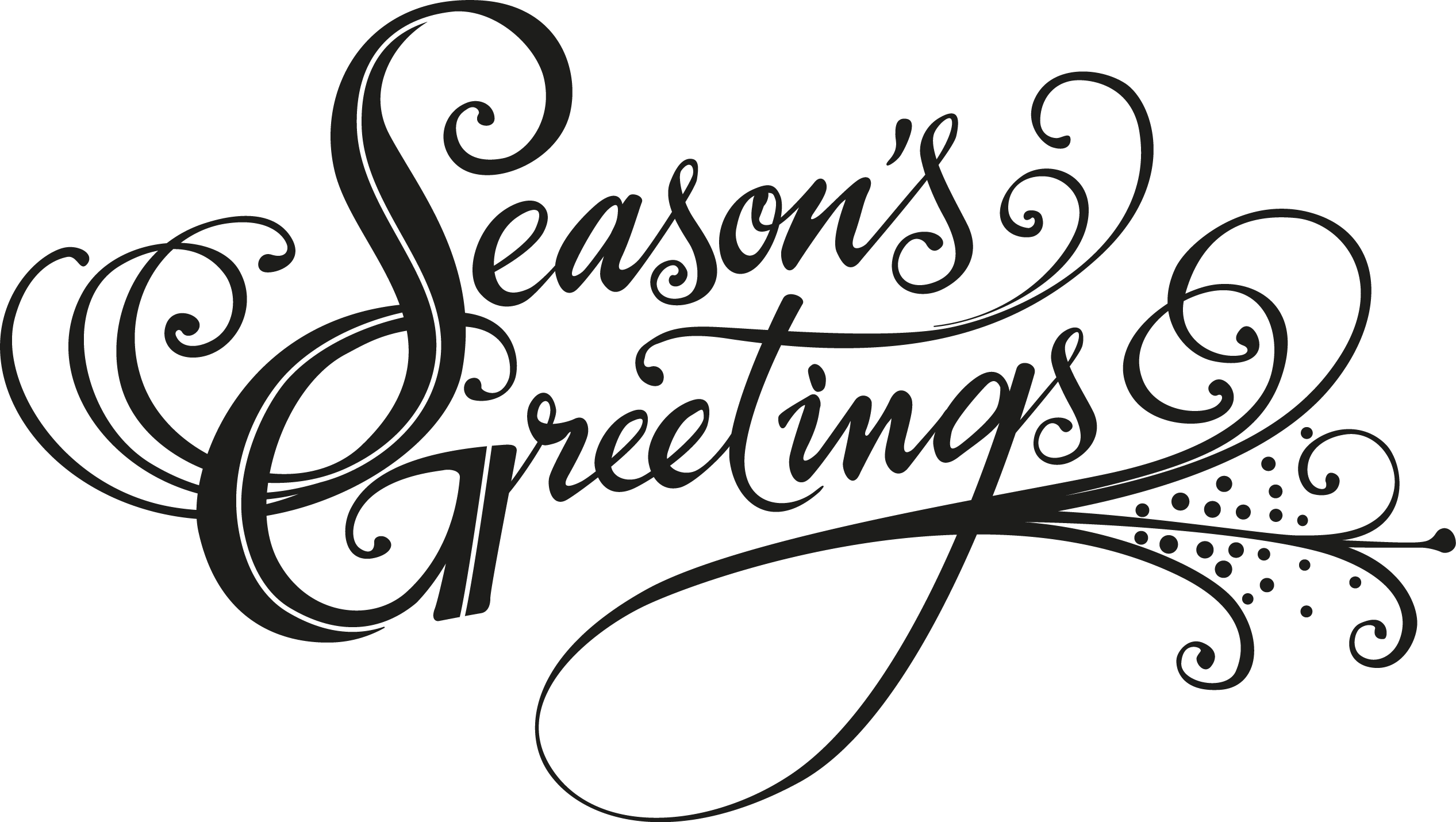 Christmas clipart seasons greetings.