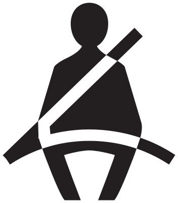 wear seat belt.