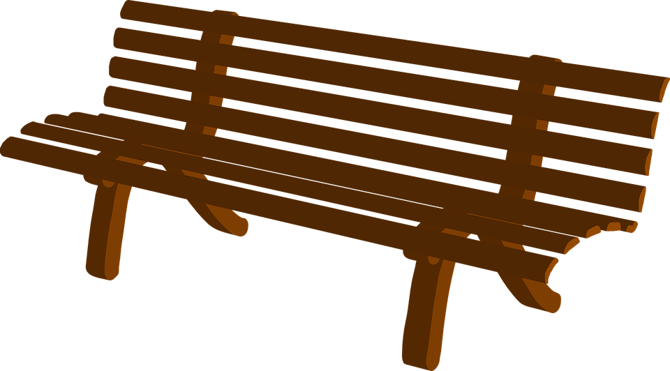 Free vector graphic: Bench, Park, Brown, Wooden, Seat.