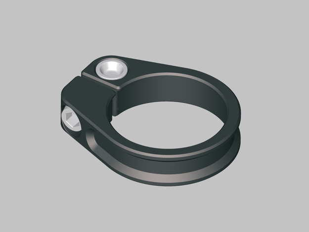 Searched 3d models for Bicycle seat clamp.