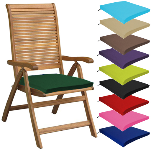 Multipacks Outdoor Waterproof Chair Pads Cushions ONLY Garden.