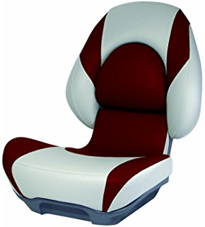 Amazon.com : Attwood Centric II Fully Upholstered Boat Seat with.