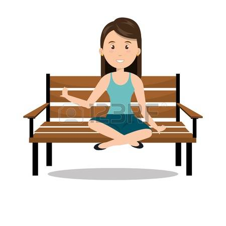 350 Seated Woman Stock Vector Illustration And Royalty Free Seated.