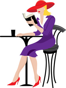 Bistro Table Clipart Image.