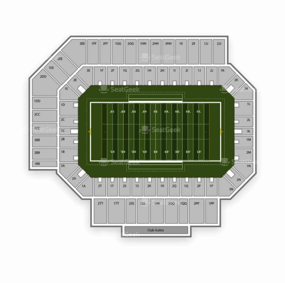Floyd Stadium Seating Chart Map Seatgeek Png Tenn Football.