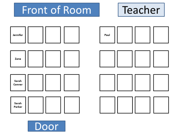 seating arrangement clipart