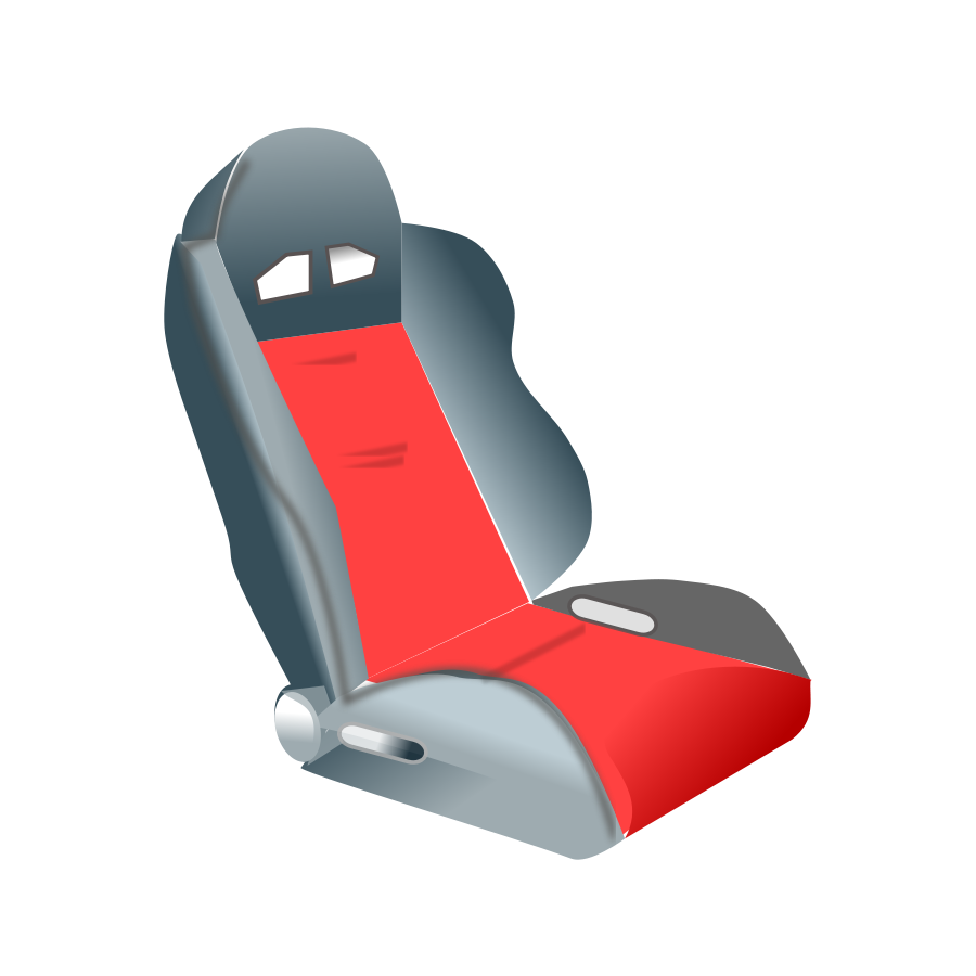Racing seats Clipart, vector clip art online, royalty free design.
