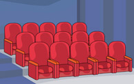 Cinema Seats Clipart.