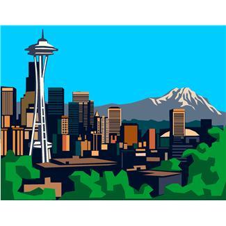 Seattle clip art free.