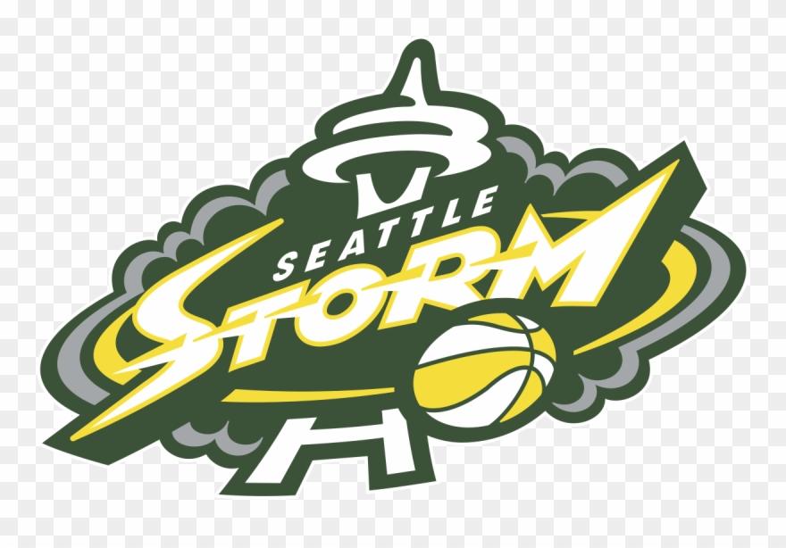 Seattle Storm Logo Clipart (#909090).
