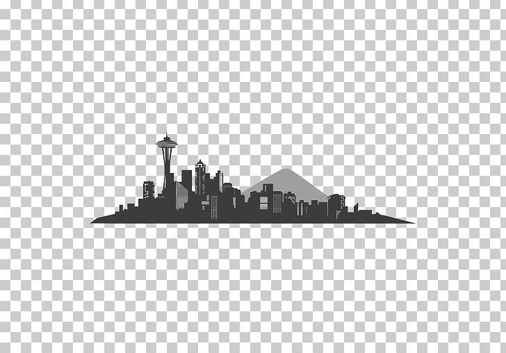 Seattle Skyline Silhouette PNG, Clipart, Animals, Art, Art.