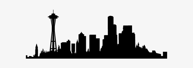 Download Free png Png Library Seattle Skyline Clipart.