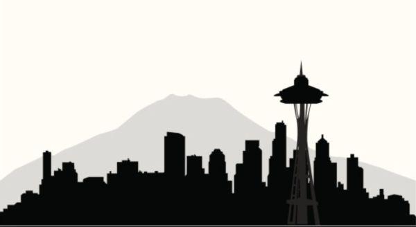 25+ Seattle Landscape Clip Art Pictures and Ideas on Pro.