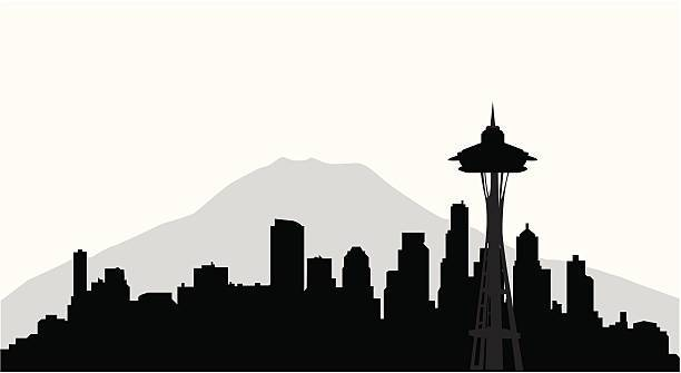 Seattle skyline. » Clipart Portal.