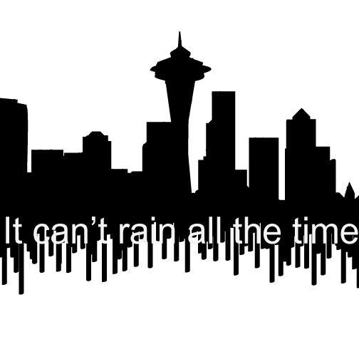 Seattle Skyline tattoo by Pyrosia.deviantart.com.